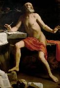 Guido Cagnacci Hl. Hieronymus oil painting