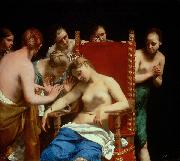 Guido Cagnacci Death of Cleopatra oil painting