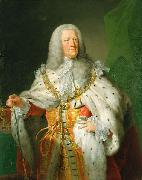 John Shackleton Portrait of George II of Great Britain oil painting