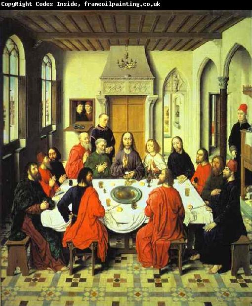 Dieric Bouts Last Supper central section of an alterpiece