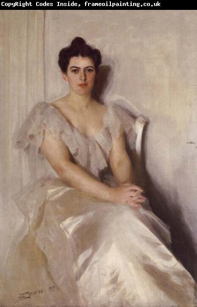 Anders Zorn Mrs Frances Cleveland